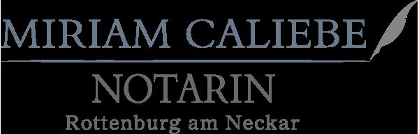 Notarin Caliebe